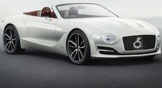 Bentley, a Shanghai debutta nelle elettriche con la cabrio Exp 12 Speed 6e
