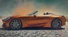 BMW Z4 concept protagonista al magico show di Pebble Beach