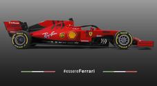 Ecco la nuova Ferrari SF90. Vettel: «Strada giusta, non vedo l'ora di partire»