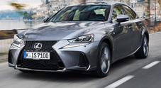 Lexus IS, l'essenza dell'ibrido con ancora più lusso e sicurezza