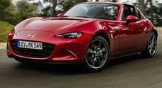 Mazda MX-5 RF, arriva in Italia la nuova coupé-roadster bella e possibile