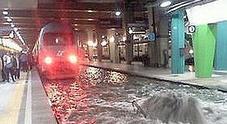 Bomba d'acqua su Napoli, sospesa la circolazione dei treni sulla linea 2 della metropolitana