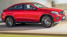 Mercedes GLE Coupé, anche la Stella svela il Suv sportivo: attacco alla X6
