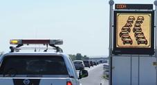 Doppio incidente sulla A4: coinvolti mezzi pesanti. Code e traffico lento