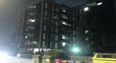 L'agglomerato di palazzi dove un bimbo di 5 anni è caduto dal terzo piano