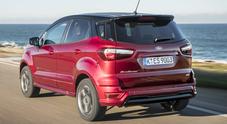 Ford EcoSport, il piccolo Suv cresce in qualità e corredo tecnico. C'è anche nella versione ST Line