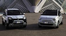 Panda e 500, arrivano le prime ibride Fiat. Listino da 10.900 euro, prime consegne a fine gennaio