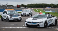BMW prolunga la partnership in attesa dell'esordio: la i8 sarà la Safety Car, la i3 usata come Medical Car e Race Control Car