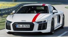 Audi R8, non solo trazione integrale per la supercar: ecco la V10 RWS con la sola trazione posteriore