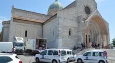 Messa in diretta su Rai Uno: divieto di sosta davanti a San Ciriaco