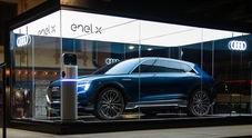 Audi e-Tron, il nuovo Suv elettrico diventa auto ufficiale di Cortina d'Ampezzo