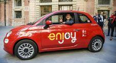 Sbarco car sharing a Bologna, Enjoy mette la sesta. In città arrivano anche le Zoe elettriche