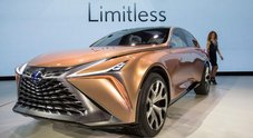 Inventare brand, la regina Lexus torna alla carica: dalla mitica belina LS al crossover LF-1 Limitless