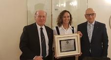 Mariafelicia Carraturo racconta il suo record mondiale al Panathlon