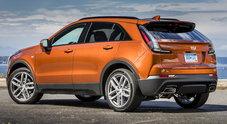 """Cadillac si affaccia in Europa con un Suv compatto. Ecco XT4 dal """"cuore"""" italiano: il 4 cilindri 2.0 biturbo da 174 cv"""