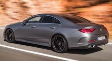 Mercedes, terzo atto per la CLS. La coupé in formato 4 porte alza ancora l'asticella
