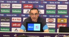 L'ira di Sarri dopo Firenze: «Ci siamo persi. Martedì mi arrabbierò»
