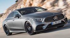 Mercedes CLS, un concentrato di lusso e tecnologia per la nuova coupè con la stella