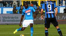 Cori razzisti contro Koulibaly: curva Atalanta chiusa per un turno