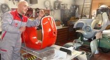 A Viterbo da tutta Europa per il dottore delle Vespe: anche 9 mesi per un restauro a regola d'arte