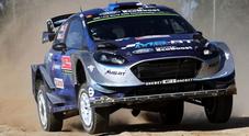 """Rally Portogallo, Tanak (Ford Fiesta) al comando dopo la 2^ giornata. Grande equilibrio in testa con 6 piloti in 20"""""""