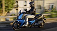 BMW C400X, dinamico ed elegante punta anche sul massimo divertimento di guida