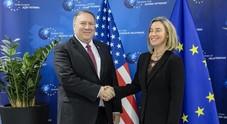 Fonti Ue, Mogherini-Pompeo evitano nodi Iran e Medio Oriente