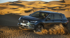 """Seat Tarraco, la trazione integrale 4Drive perfetta per """"arrampicarsi"""" sulle dune del Sahara"""