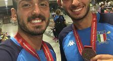 Due senza di bronzo con il posillipino Maestrale e Giulivo a Shanghai
