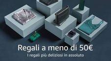 Amazon, idee regalo per lui e lei: le migliori proposte a meno di 50 euro in vista del Natale