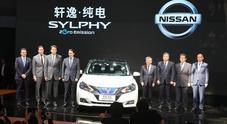 Nissan a Pechino punta su mobilità elettrica. Da Sylphy alla Leaf passando per tecnologia E-Power