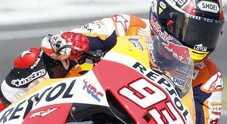 MotoGP a Valencia, la sfida finale: nelle libere Marquez megio di Lorenzo