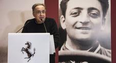 """Marchionne inaugura il rinnovato Museo Ferrari e la mostra """"Under the Skin"""" dedicata ad Enzo"""