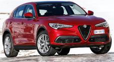 Alfa Romeo Stelvio, al debutto due nuovi motori e la trazione posteriore