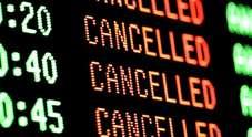 Nubifragio: dieci milioni di danni nel  Padovano, decine di voli cancellati  Proteste dei passeggeri di Ryanair