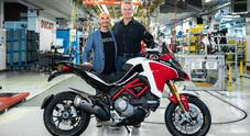 Ducati Multistrada, 100.000 unità prodotte: nel 2021 anche con il V4