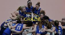 Pallavolo, Italia sconfitta in finale dalla Serbia