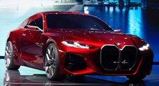 BMW Concept 4, una finestra sul futuro del brand. Stile e innovazione al top