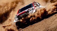 Peterhansel (Peugeot) vince 7^ tappa, Loeb in difficoltà. Al-Attiyah (Toyota) sempre leader. Brabec (Honda) torna in testa
