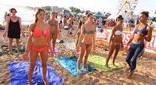 Acrobazie da surf, la California è qui (foto Luciano Giobbi)