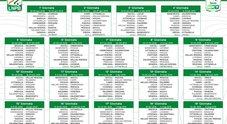 Serie B, il calendario completo