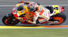 Stratosferico Marquez: pole a Valencia, dà 3 decimi e mezzo a Lorenzo