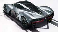 Aston Martin e Red Bull tolgono il velo alla hypercar da urlo: ecco la AM-RB 001