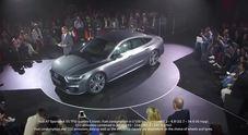 Anteprima mondiale per la nuova Audi A7 sportback