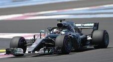Gp Francia, Mercedes domina prime libere: Hamilton davanti a Bottas. Raikkonen 4° e Vettel 5°