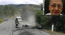 """Frontale tra due moto: """"Dido"""" muore mentre va in vacanza all'Elba"""