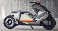 BMW Concept Link, la mobilità futura a zero emissioni su due ruote secondo l'Elica