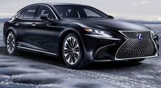Lexus LS 500h, a Ginevra svelato il nuovo lusso green dell'ammiraglia ibrida