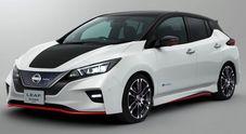 Svolta Nissan: l'auto elettrica è anche sportiva. Presentato a Tokyo il concept della Leaf Nismo