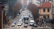 Una panoramica di viale Dante: sulla destra sarà realizzato il parcheggio